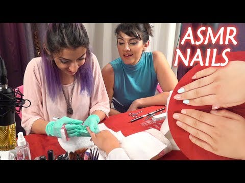 Nail Care ASMR Gel Nails Professional Manicure