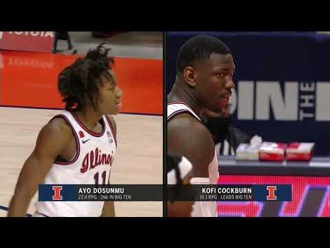 Illinois vs Ohio State | 2021.1.16 | NCAAB Game