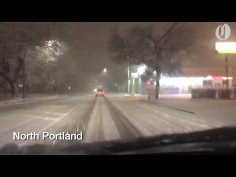 Portland pelted by another snowstorm