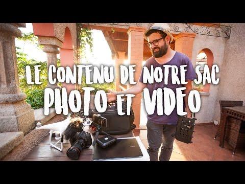 Quel matériel nous utilisons pour nos photos et vidéos de voyage ?