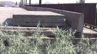 Керчь обзор недостроя Украины-Ворошиловского моста-путепровода 1993 г.