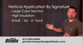 Window Blinds - Vertical Cellular Shade by Budget Blinds Tampa