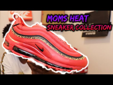 MY MOMS HEAT SNEAKER COLLECTION🔥☔️(FIRE)