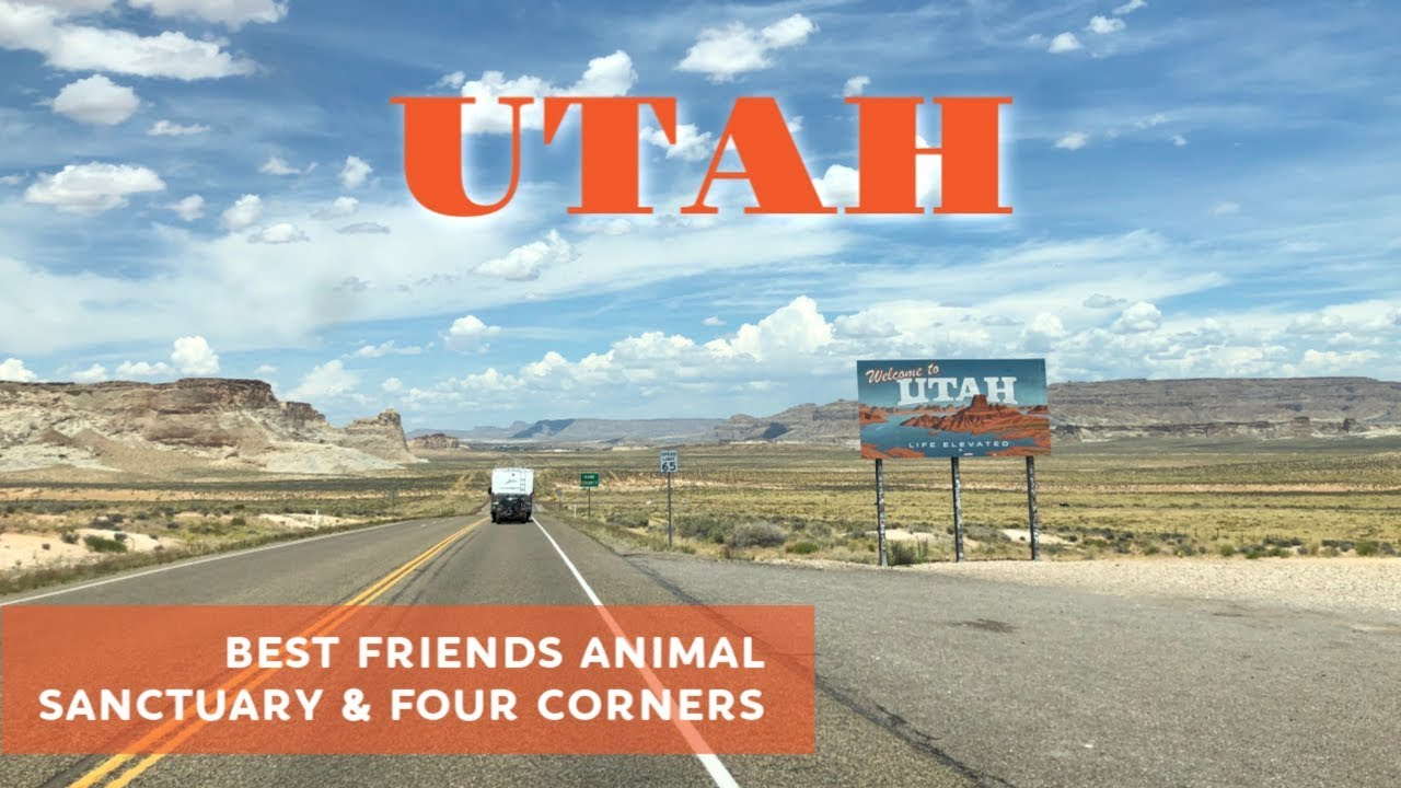 Best Friends Animal Sanctuary in Kanab, Utah & a visit to Four Corners
