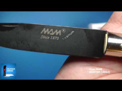 Нож Мам Hunter. Классический складной нож из Португалии