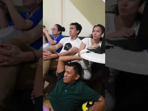 Koro de San Vicente reacts to Khevin Almario Tawag ng Tanghalan