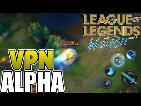 League Of Legends Wild Rift Beta Register