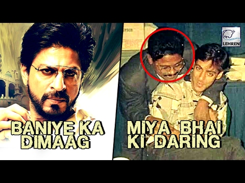 Salman Khan MEETS Real Life Raees Not Shah Rukh | LehrenTV
