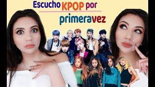 MI PRIMERA VEZ ESCUCHANDO KPOP ♥ Blackpink, BTS, Twice