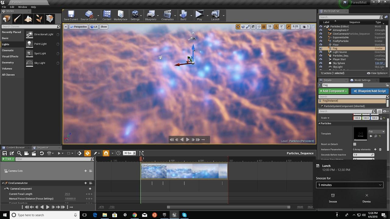 Unreal Engine 4: Volumetric Clouds