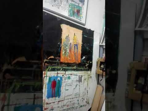 Plastic artist in Khartoum, Sudan