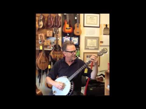 Savannah 5String Banjo Played  Gordon Stone, Randolin Music, Burlington, VT