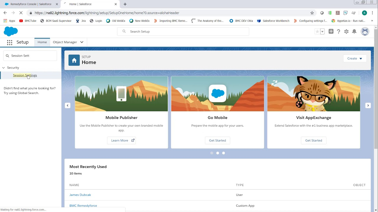With Salesforce Lightning Enabled Records will       BMC