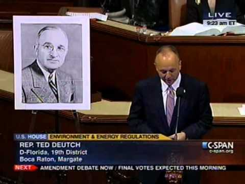 "Deutch: ""Do Nothing"" Congress of 1948 Did More Than 112th Congress"