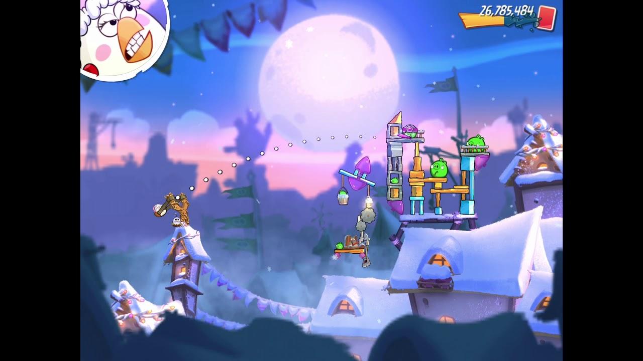 Angry Birds 2 AB2 - Jingle Birds Adventure 2019 (Level 8) - YouTube
