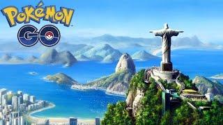 Rio de Janeiro & Próximas Viagens Pokémon GO
