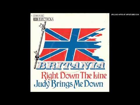 """BRITANIA """"Right Down The Line"""" 1973 Glam Rock"""
