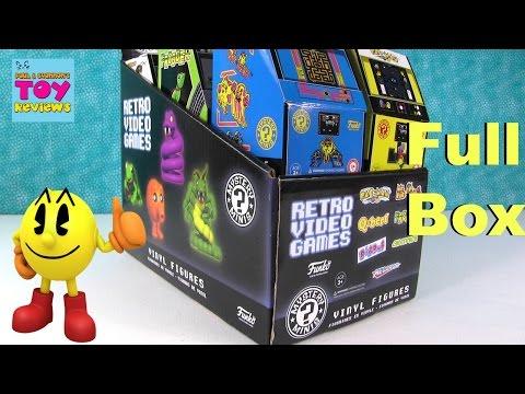 Retro Video Games Funko Mystery Minis Vinyl Figures Unboxing | PSToyReviews