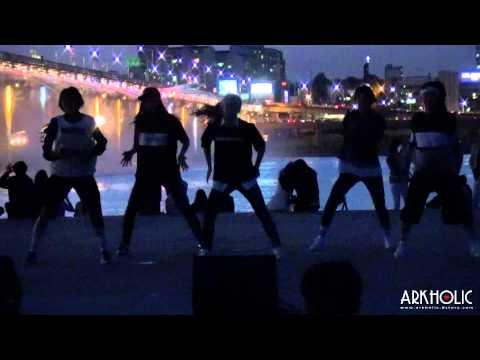 [ArkHolic]150425 Han River Event_Go girl.Dance