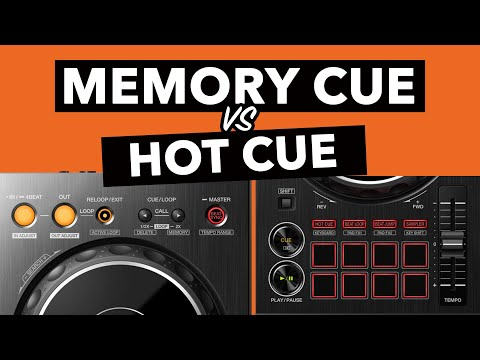 What's the difference between HOT CUES and MEMORY CUES?  - Rekordbox DJ Tutorial