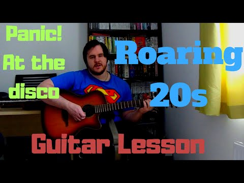 Panic! At The Disco Roaring 20s Guitar lesson chords + picking tab