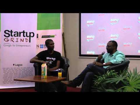 Tayo Oviosu (PagaTech) at StartupGrind Lagos
