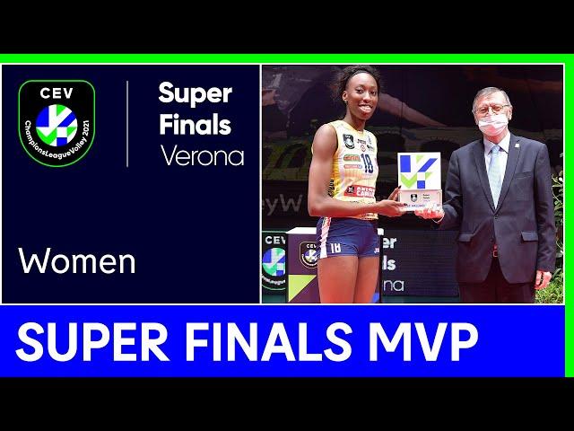 Super Finals MVP 2021: Paola Egonu