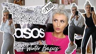 ASOS HAUL & TRY ON // WINTER BASICS 2019
