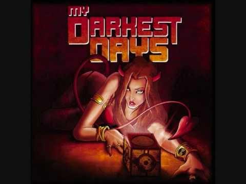 Porn Star Dancing - My Darkest Days [with Lyrics]