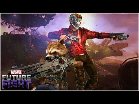 STAR-LORD & ROCKET NEED BIGGER GUNS (Sneak Peek #4) - Marvel Future Fight