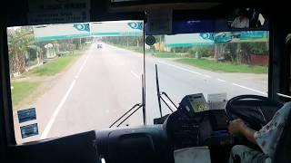 Gaya sopir bis/bus di Malaysia,yang pernah naik bis Indonesia bakal heran!!!