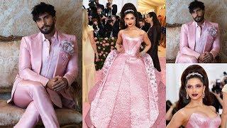 Ranveer Singh and Deepika Padukone Wear Same Dress at Met Gala 2019