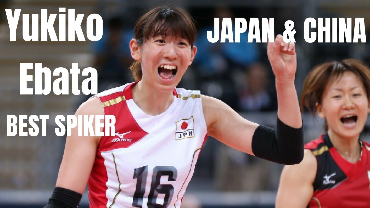Yukiko EBATA 江畑 幸子(JPN) v CHINA | BEST SPIKER of JAPAN VOLLEYBALL