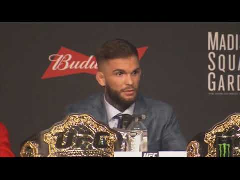 Cody Garbrandt admits Team Alpha Male does steroids