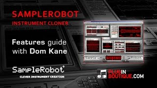 SampleRobot Instrument Creating Plugin - Overview