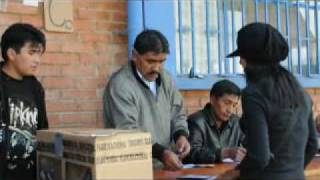 Election Observer Thoughts on Election Day in Bolivia 2009 (Carter Center)