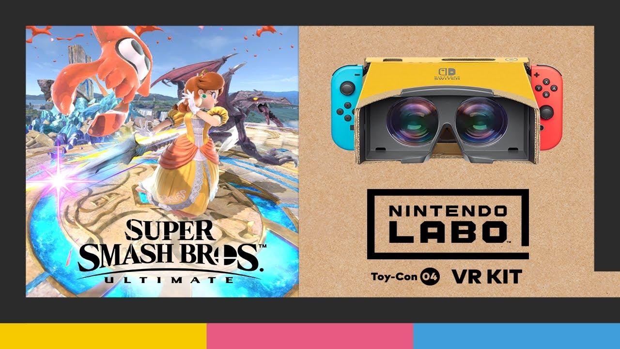 Nintendo Labo: Kit VR + Super Smash Bros. Ultimate (Nintendo Switch)