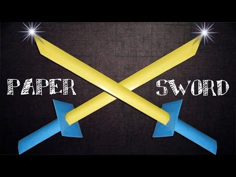 How to Make a Paper Sword Like Ninja Samurai