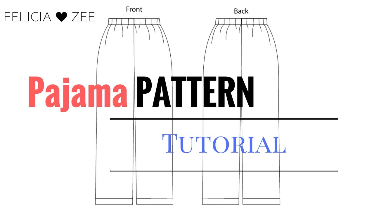 image relating to Printable Pajama Pants Pattern named How In the direction of Deliver A Pajama Trousers Behavior