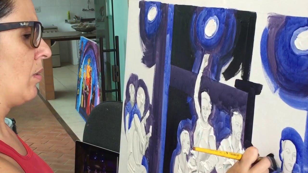"""Arte em 5 minutos - Exposição """"Flamenco"""" por Simone Ribeiro"""