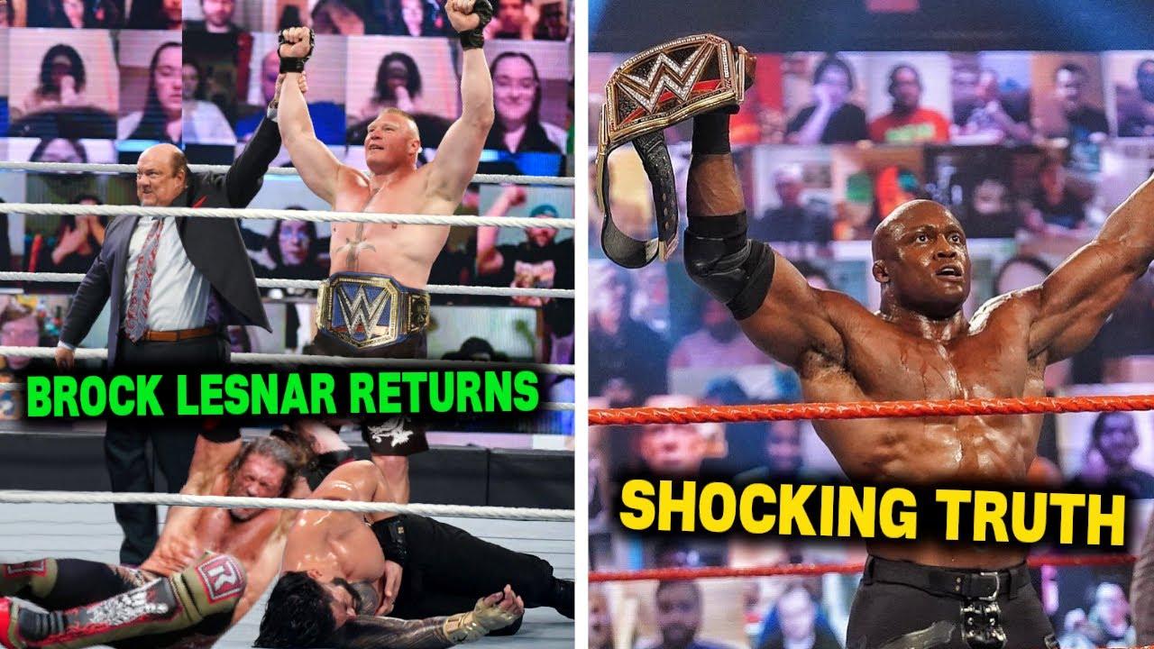 Fans want Bobby Lashley vs. Brock Lesnar at WrestleMania 37