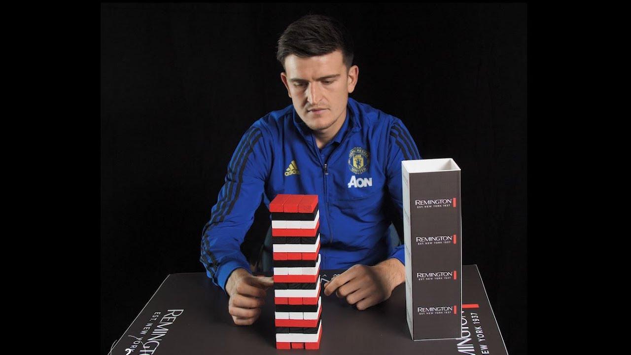 Harry Maguire Man Utd  x Remington Tower Challenge