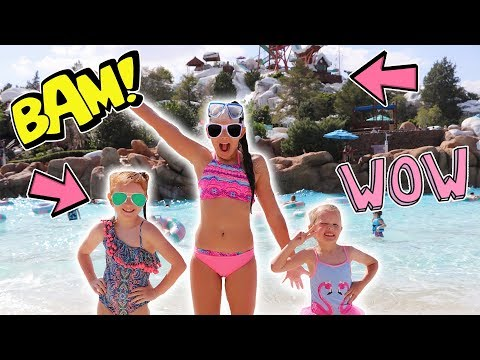 WE FINALLY DID IT! - BLIZZARD BEACH WATER PARK! FLORIDA DAY 11!