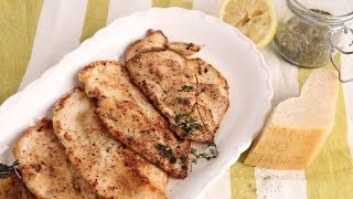 Parmesan Sauteed Chicken Recipe  Episode 1061