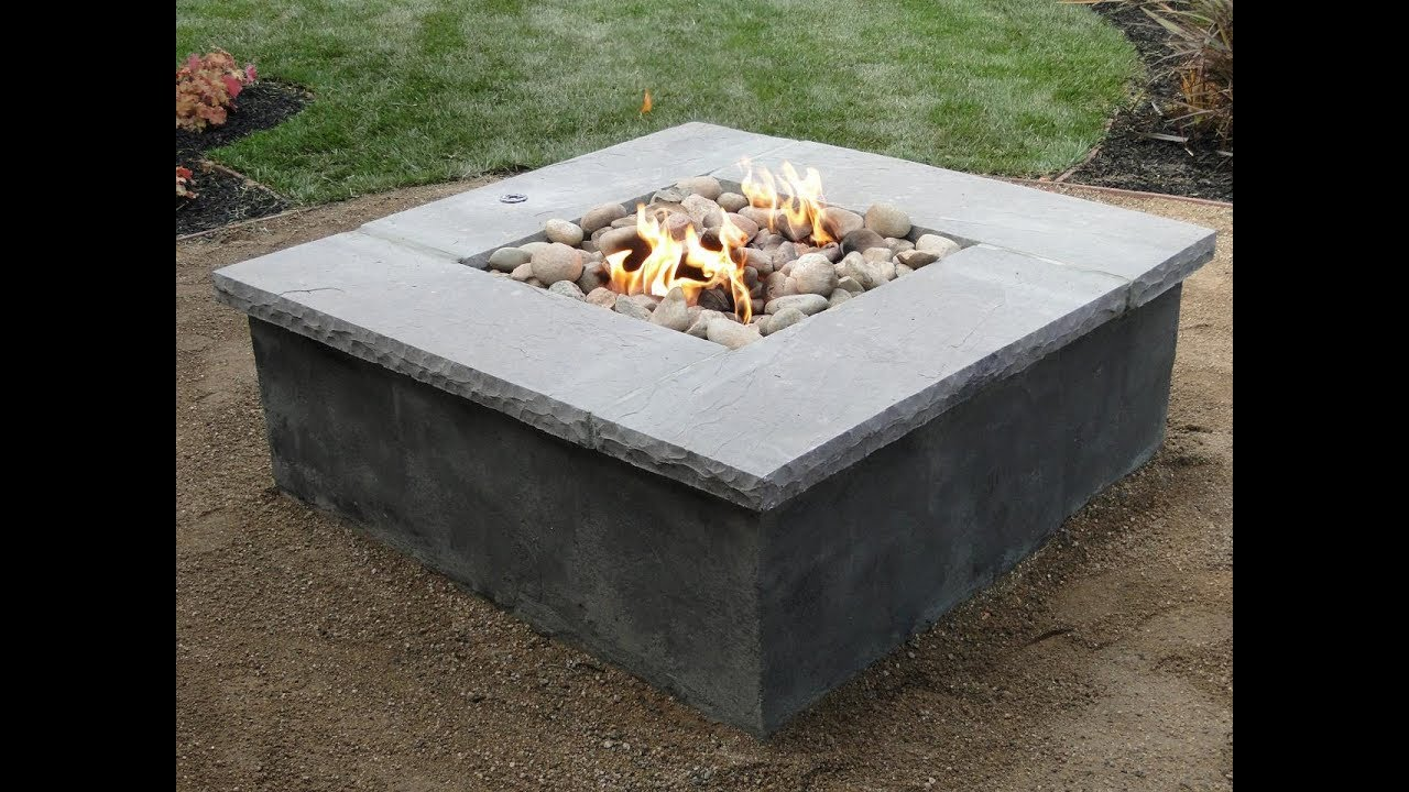 Diy Propane Fire Pit - Diy Propane Fire Pit - YouTube
