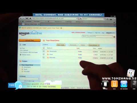 How to Amazon Cloud Drive Cloud Player on iPhone / iPad / iPad 2 / iPod Touch HD