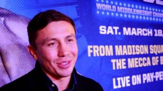 GENNADY GOLOVKIN- DANIEL JACOBS MEDIA PRESS CONFERENCE