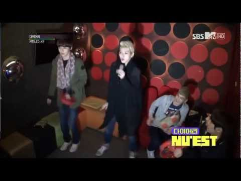 NU'EST Ren at the Karaoke cut