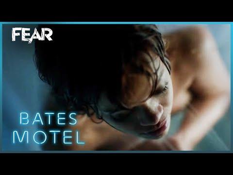 Rihanna's Psycho Shower Scene   Bates Motel