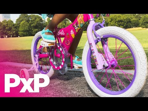 Be a Barbie girl in a Barbie world with these Dynacraft bikes! | A Toy Insider Play by Play
